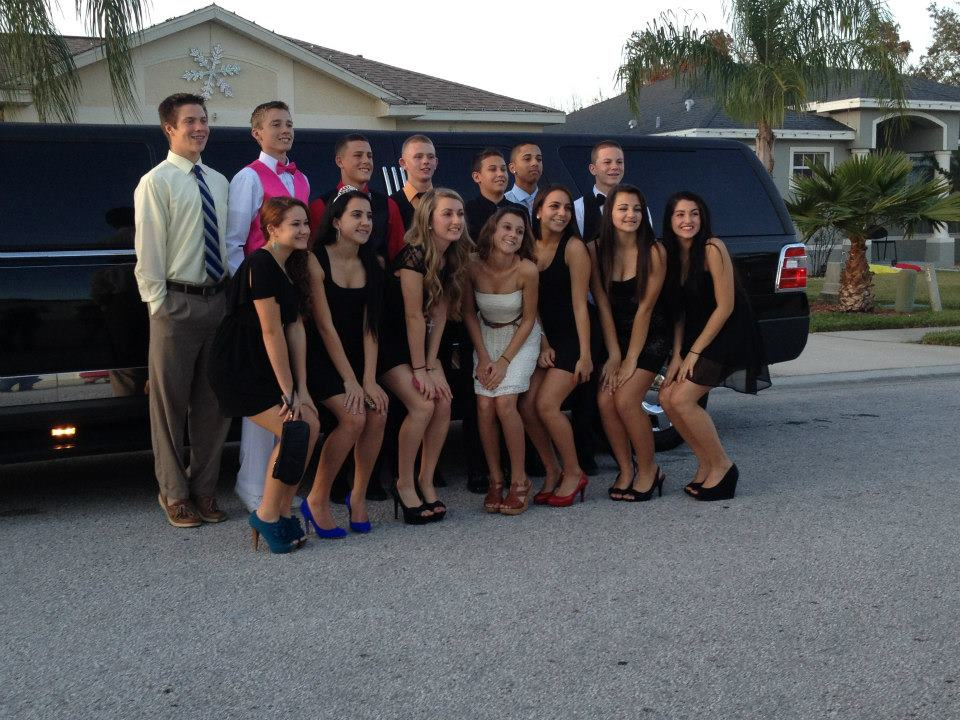 Homecoming Limo Party
